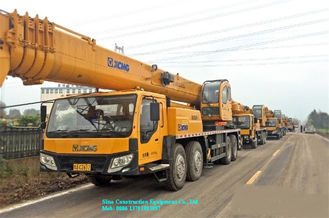 QY40KC Telescopic Truck Crane Road Work Equipment 40t For Construction Site