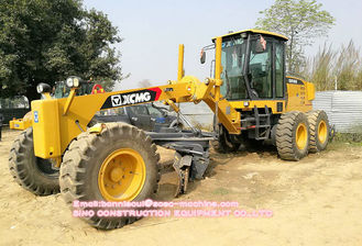 Stability Construction Motor Grader 160HP GR165 Earth Moving Equipment