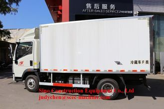 Sinotruk Howo Special Purpose Truck 4x2 5 Ton Light Refrigerated Truck